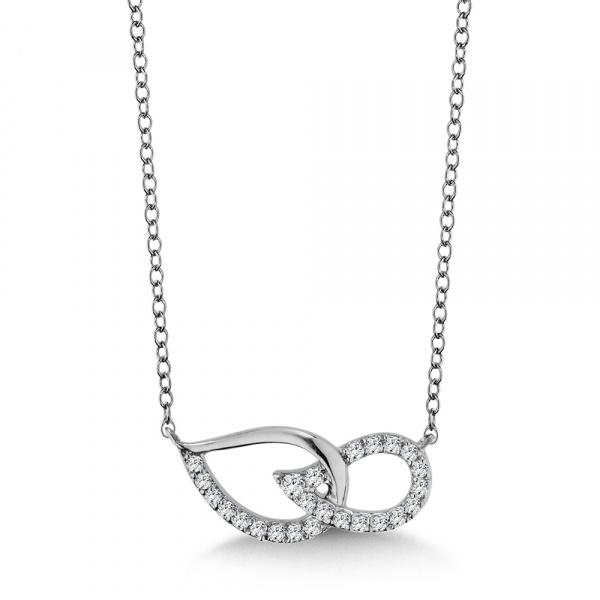 241c33a4b Diamond Necklace | PDD2761-W | Valina Fine Jewelry