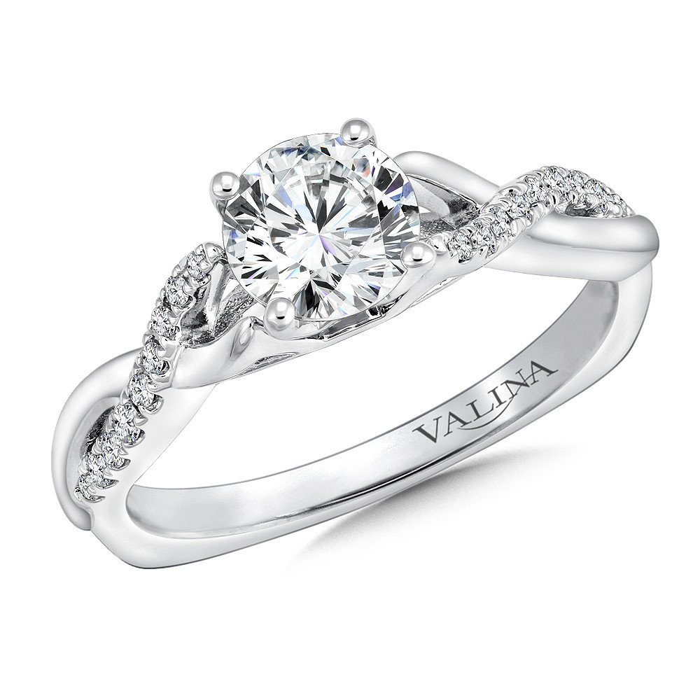 Diamond Engagement Ring by Valina - R9635W