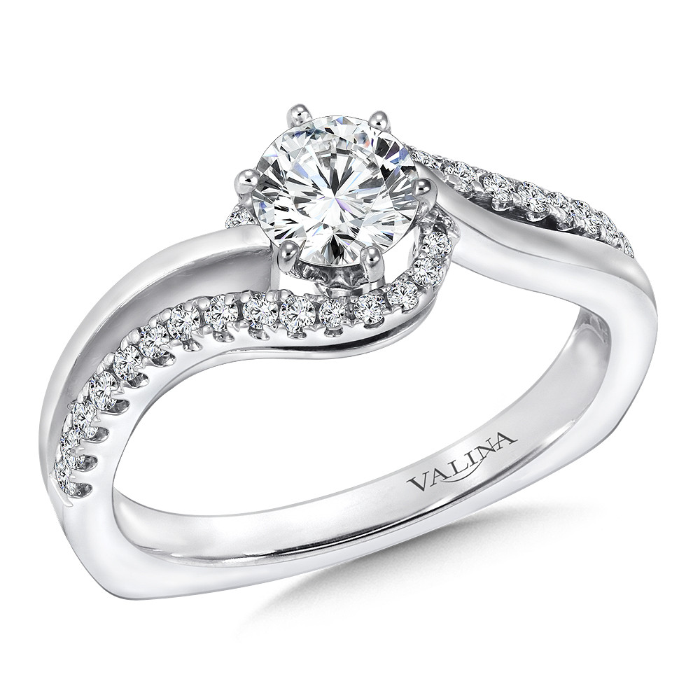 Diamond Engagement Ring by Valina - RQ9350W